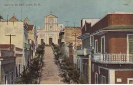 POSTAL DE GALETA DE SAN JUAN  (PUERTO RICO) (A.C.BOSSELMAN) - Puerto Rico