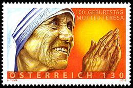 Austria 2010: Madre Teresa / Mother Teresa ** - Mother Teresa