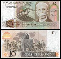 Brasile 10 Cruzados 1986 1987 FdS Brazil UNC-aUNC - Brasile