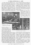 LE REGIME PENITENTIAIRE AU JAPON    1911 - Unclassified
