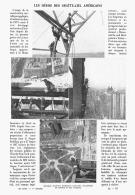 LES HEROS Des GRATTE-CIEL AMERICAINS    1911 - Sciences & Technique