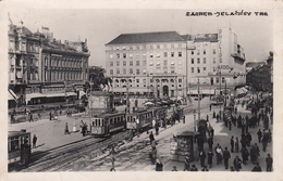 Zagreb - Jelacicev Trg - Tram - Croazia