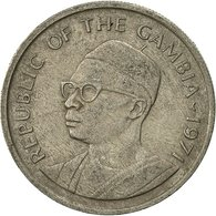 Monnaie, GAMBIA, THE, 25 Bututs, 1971, TTB, Copper-nickel, KM:11 - Gambie