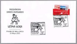 Periodico - Newspaper - Journal - ULTIMA HORA - Palma De Mallorca, Baleares, 2005 - Otros