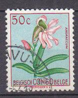 A0242 - CONGO BELGE Yv N°307 FLEURS - Congo Belge