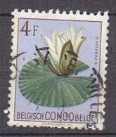 A0246 - CONGO BELGE Yv N°315 FLEURS - Congo Belge