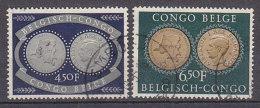 A0249 - CONGO BELGE Yv N°327/28 INSTITUT COLONIAL - Congo Belge