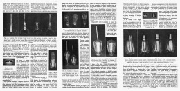 """LA NAISSANCE D'UNE AMPOULE   """" OSRAM """"  1912 - Sciences & Technique"""