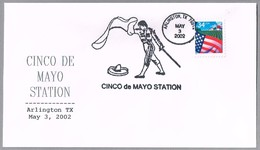 Cinco De Mayo. TOROS - BULLFIGHTING. Arlington TX 2002 - Fiestas