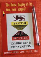 British Plastics Exhibition Olympia London 1955 - United Kingdom