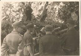 Photo Werhmacht WW2 , Sodats Artillerie , BORDEAUX , 1944 . - 1939-45