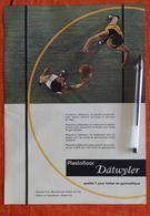 Dätwyler - Plastofloor Pour Gymnase - Lino - 1958 - Suisse