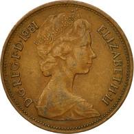 Monnaie, Grande-Bretagne, Elizabeth II, 2 New Pence, 1981, TTB, Bronze, KM:916 - 1971-… : Monnaies Décimales