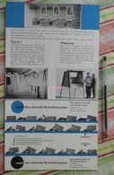Lot De 2 Publicités Sur Les Baraques De Chantier : Mobil Das Rationelle Bauhütten - 1965-1966 - Germany