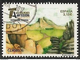 2017-ED. 5159 - Patrimonio Mundial. Sitio Dolmenes De Antequera   -USADO- - 1931-Aujourd'hui: II. République - ....Juan Carlos I