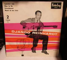 EP DJANGO REINHARDT SEPTEMBER SONG REF 12008 - Blues