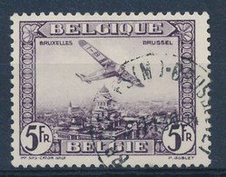 BELGIE - OBP Nr PA/LP 5 - Luchtpost/Poste Aérienne  - Gest./obl. - Cote 32,50 € - Poste Aérienne
