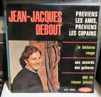 EP JEAN JACQUES DEBOUT PREVIENS LES AMIS PREVIENS LES COPAINS - Vinyl Records