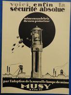 Lampe De Mine Musy à Anzin (Nord) - 1929 - France
