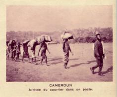 Chromo, Image, Vignette : Cameroun, Arrivée Du Courrier Dans Un Poste (6 Cm Sur 7 Cm) - Unclassified