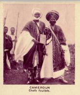 Chromo, Image, Vignette : Cameroun, Chefs Foulbés (6 Cm Sur 7 Cm) - Unclassified