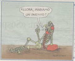 Vignetta Forattini 2007 Da Ritagli Di Giornali - Desde 1966
