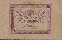 CÉDULA DE 4 CENTAVOS N/D - Portugal