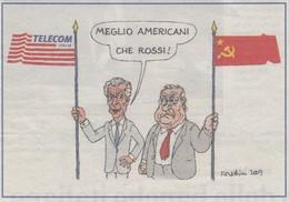 Vignetta Forattini 2007 Da Ritagli Di Giornali - After 1965
