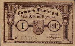 CÉDULA DE 1 CENTAVO N/D Nº.05768 - Portugal