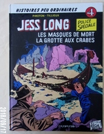Jess LONG 4. Les Masques De Mort Tillieux - Piroton Cartonné 1985 Ttbe - Jess Long