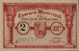 CÉDULA DE 2 CENTAVO N/D Nº.00447 - Portugal