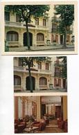 VICHY - Hôtels De Séville Et Lisbonne - 2 Cartes - Voir Scan - Vichy