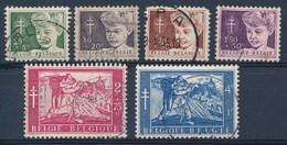 BELGIE - OBP Nr 955/960 - Nr 957 Ronde Hoek/coin Arrondi - Gest./obl. - Cote 21,00 € - Bélgica