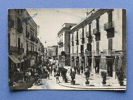 Cartolina Trani - Via Mario Pagano - 1956 - Bari
