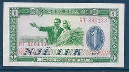 Albanie - 1 Leke - Pick N° 33 - 1976 - Neuf - Albanie