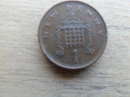 Grande-bretagne  1 New Penny  1971  Km 915 - 1971-… : Monnaies Décimales