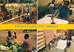 1 AK Elfenbeinküste Côte D'Ivoire * Fabrication Des Pagnes - Anfertigung Von Stoffen - IRIS Karte * - Elfenbeinküste
