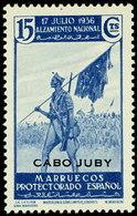 Cabo Juby 089 (*) Alzamiento. 1935. Sin Goma - Cabo Juby