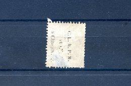 France - Cérès N°56 - Oblitéré Inscription Au Dos - 2d Choix - 2scans - (F092J) - 1871-1875 Cérès