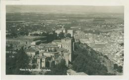 Granada; Vista De La Alhambra Y Ciudad (Panorama) - Not Circulated. (Editor?) - Granada
