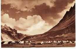 1761 - WW  Militaria -  Savoie - BIVOUAC EN MONTAGNE  - MAURIENNE   VALLOIRE ?? - Guerra 1939-45