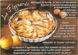 Recettes De Cuisine - Recette De Nos Grands-Mères - La Flognarde - Recette Voir Recto Et Verso - Cpm - Pas écrite - - Recetas De Cocina