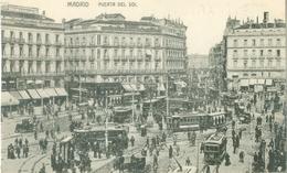 Madrid 1914; Puerta Del Sol (Tramway) - Not Circulated. (Editor?) - Madrid