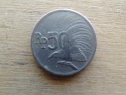 Indonesie  50  Rupiah  1971  Km 35 - Indonésie