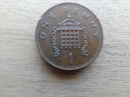 Grande-bretagne  1  Penny  1984 Km 927 - 1971-… : Monnaies Décimales