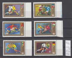 42K86 / 1972 - Michel Nr. 2751-2758 SPORT UEFA Soccer Calcio Football Fussball ** MNH Hungary Ungarn - Ungebraucht