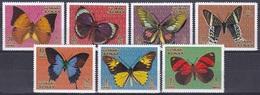 Ajman 1971 Tiere Fauna Animals Schmetterlinge Butterflies Papillon Mariposa Farfalle, Aus Mi.  747-4 / Not Complete ** - Adschman