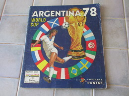 Argentina 78 1978  Album D Images Panini Incomplet Foot - Andere