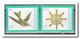 New York 2010, Postfris MNH, Bioversity, Birds - New York - Hoofdkwartier Van De VN