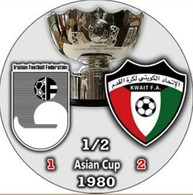 Pin Asian Cup 1980 1/2 Final - Calcio